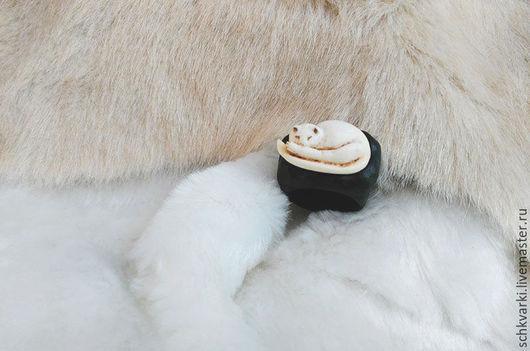 Кольца ручной работы. Ярмарка Мастеров - ручная работа. Купить Кольцо с кошкой. Handmade. Кольцо, дерево