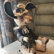 Куклы и игрушки ручной работы. Ярмарка Мастеров - ручная работа Кролик Теодор.. Handmade.