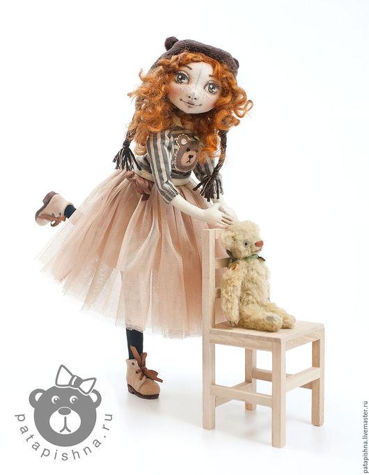 Коллекционные куклы ручной работы. Ярмарка Мастеров - ручная работа. Купить Бернадетт. Авторская текстильная кукла.. Handmade. Авторская кукла