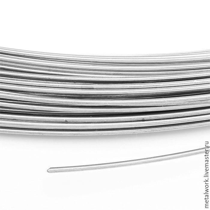 Припой серебряный в проволоке 0.6 мм твёрдый, Материалы, Ставрополь, Фото №1