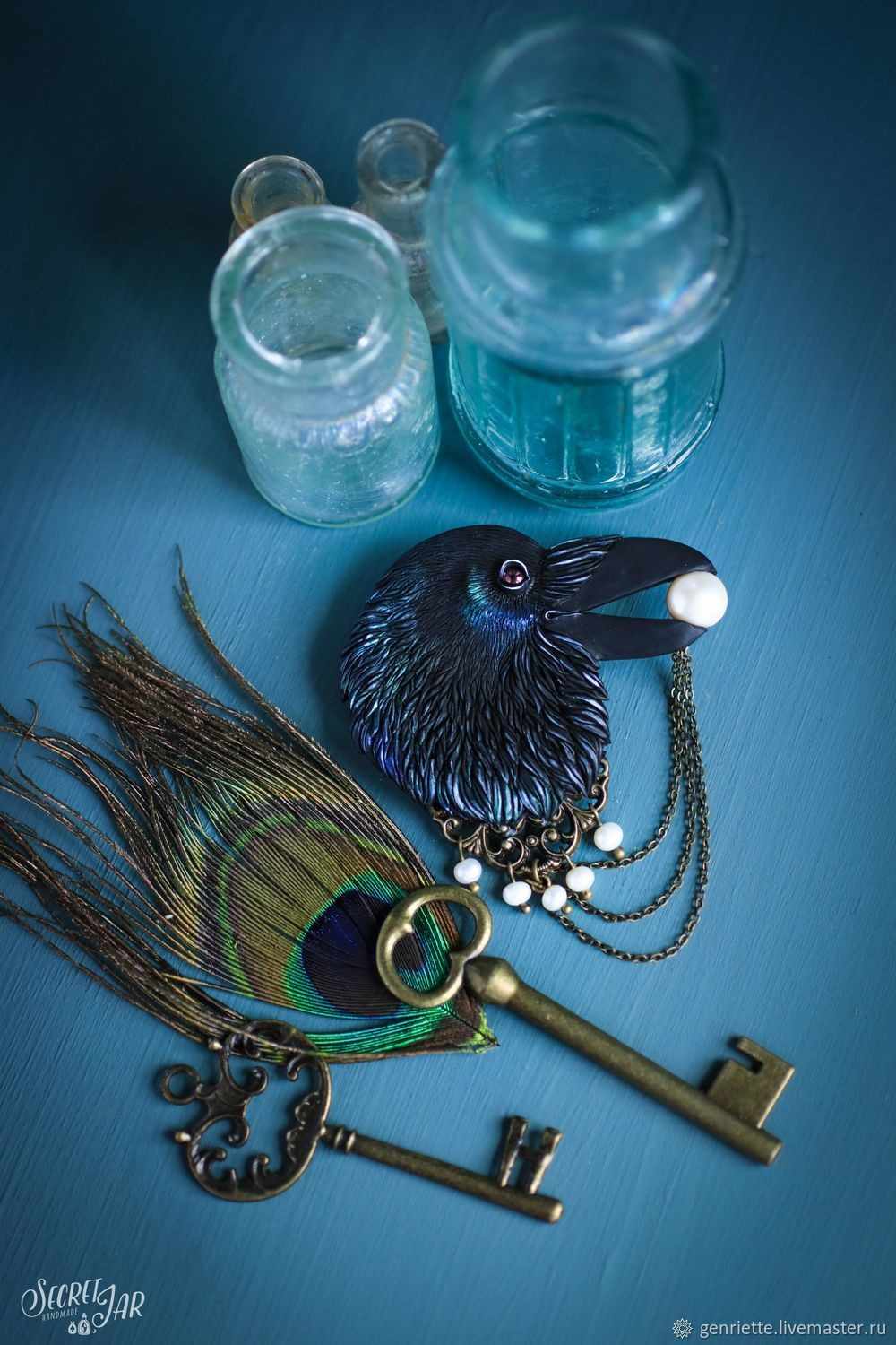 Brooch Quot The Raven Quot Shop Online On Livemaster With