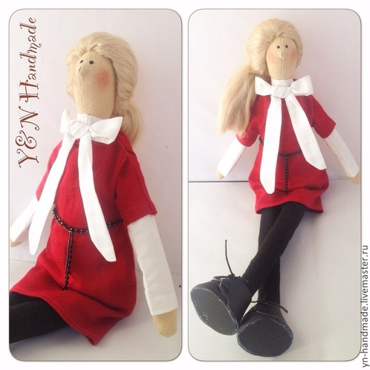 Человечки ручной работы. Ярмарка Мастеров - ручная работа. Купить Куколка-двойник. Handmade. Фуксия, куколка в подарок, кукла Тильда