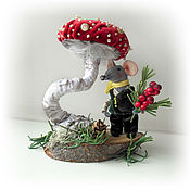 Куклы и игрушки handmade. Livemaster - original item Mini figures and figurines: From the life of mice. Handmade.