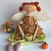 Куклы и игрушки ручной работы. Ярмарка Мастеров - ручная работа Фея-хозяюшка). Handmade.