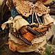 Коллекционные куклы ручной работы. Тянутся ниточки.... Оксана Старова (Xuta). Ярмарка Мастеров. Gjlfhjr, нитки хлопок