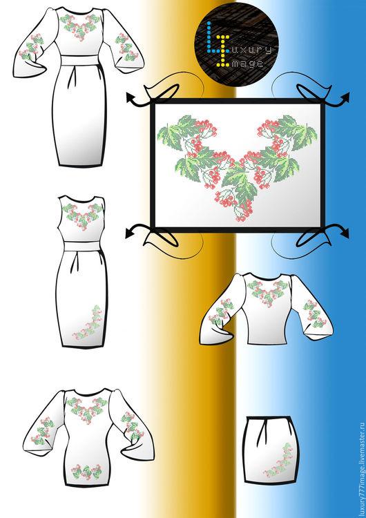 Блузки ручной работы. Ярмарка Мастеров - ручная работа. Купить Заготовки для вышивки бисером , хрестиком. Handmade. Комбинированный, вышивка