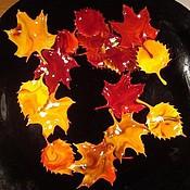 Куклы и игрушки ручной работы. Ярмарка Мастеров - ручная работа Осенние листья. Handmade.