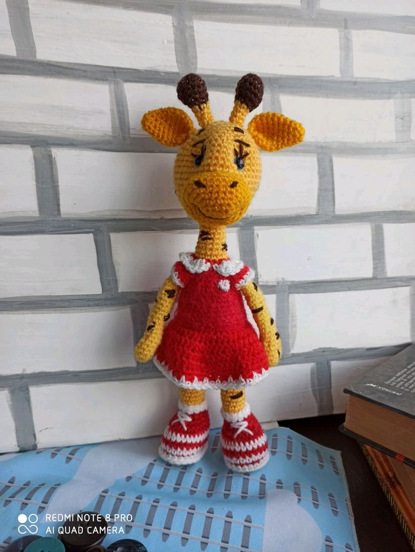 Жираф, Мягкие игрушки, Самара,  Фото №1