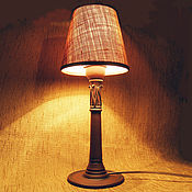 """Для дома и интерьера ручной работы. Ярмарка Мастеров - ручная работа настольная лампа, прикроватная лампа """"капитель"""". Handmade."""