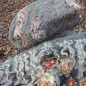 """Аксессуары ручной работы. Ярмарка Мастеров - ручная работа Комплект Берет+Шарф Хомут """"Расцветающие камни"""". Handmade."""