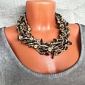 Украшения handmade. Livemaster - original item Boho necklace beads from coconut. ECO-decoration. Original beads. Africa. Handmade.