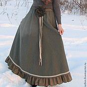 Одежда handmade. Livemaster - original item The floor-length skirt (model ). Handmade.
