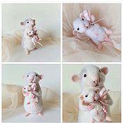 """Куклы и игрушки ручной работы. Ярмарка Мастеров - ручная работа Авторская интерьерная игрушка """"Крысуля-мама"""". Handmade."""