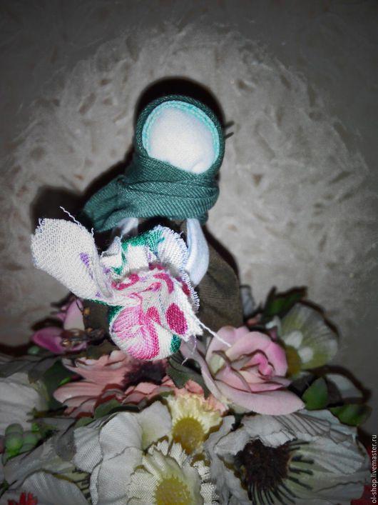 Народные куклы ручной работы. Ярмарка Мастеров - ручная работа. Купить Куколка Подорожница. Handmade. Зеленый, оберег, славянский оберег
