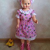 Работы для детей, ручной работы. Ярмарка Мастеров - ручная работа Платье–боди для самых маленьких (длина боди 40 см). Handmade.