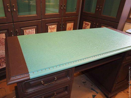 """Мебель ручной работы. Ярмарка Мастеров - ручная работа. Купить Библиотека  """"Современная классика"""" (письменный стол). Handmade. Переделка комода"""
