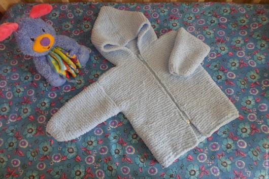 Одежда унисекс ручной работы. Ярмарка Мастеров - ручная работа. Купить кофточка- курточка с капюшоном. Handmade. Комбинированный, кофточка для мальчика