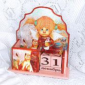 Канцелярские товары handmade. Livemaster - original item Eternal calendar Ryzhiki))). Handmade.