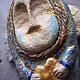 Новый год 2017 ручной работы. Ярмарка Мастеров - ручная работа. Купить Ангелочки бежево-сиреневые. Handmade. Золотой, ангел на елку