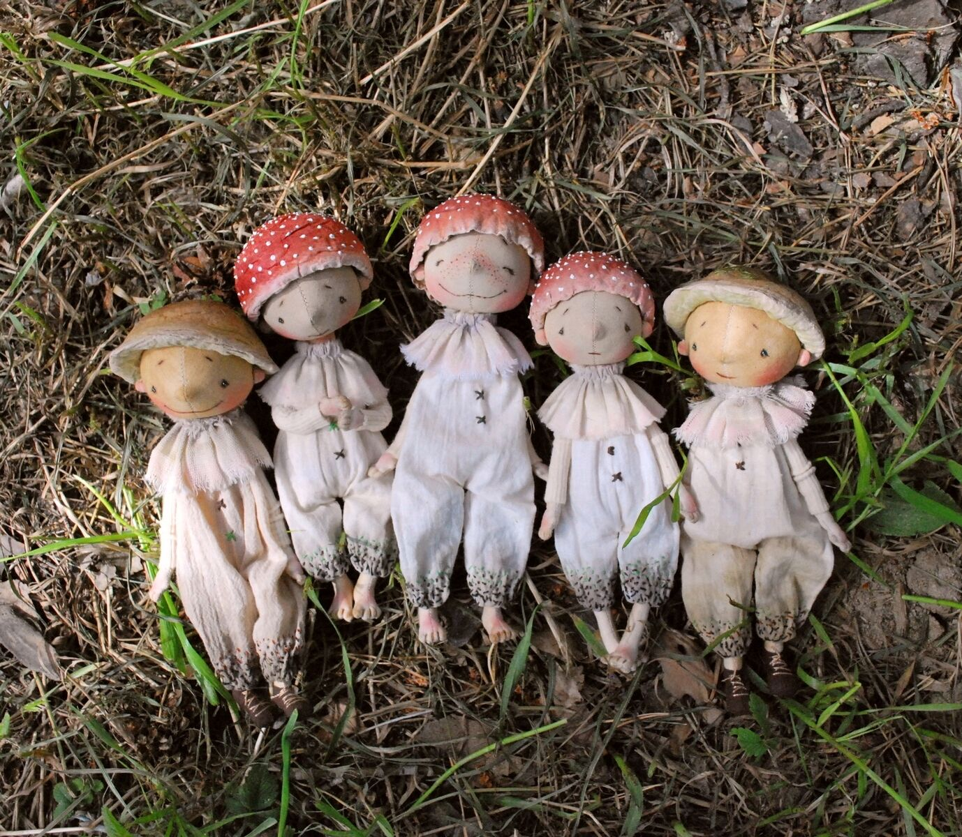 Грибочки, Интерьерная кукла, Красноярск,  Фото №1