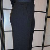 Одежда handmade. Livemaster - original item Pants black knit. Handmade.