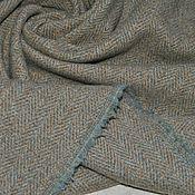 Ткани ручной работы. Ярмарка Мастеров - ручная работа Пальтово-костюмный твид ETRO. Handmade.