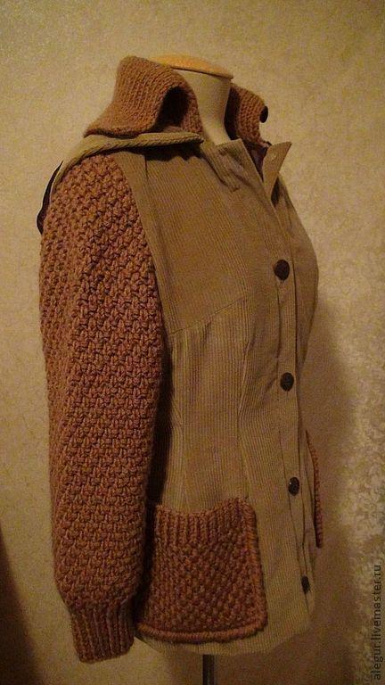 """Верхняя одежда ручной работы. Ярмарка Мастеров - ручная работа. Купить Куртка """"Эдинбург"""". Handmade. Куртка, стеганый подклад"""
