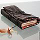 Стильный аксессуар, авторский блокнот для записей ручной работы SOULBOOK `COMANCHE`/ `Команчи` выполнен в духе индейцев Северной Америки, племени Каманчи.