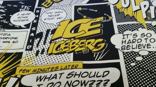 Шитье ручной работы. Ярмарка Мастеров - ручная работа. Купить Натуральный шелк Iceberg. Handmade. Ткань, брендовая ткань, шелк