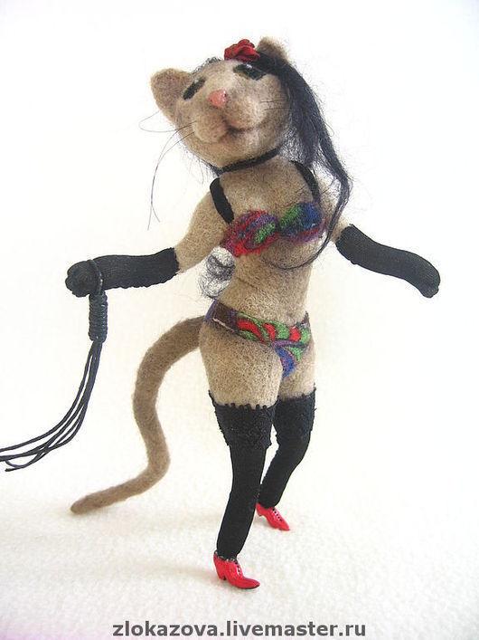 Портретные куклы ручной работы. Ярмарка Мастеров - ручная работа. Купить кошка Анжела. Handmade. Кошка, кошка из шерсти