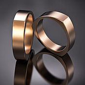 """Свадебный салон ручной работы. Ярмарка Мастеров - ручная работа Обручальное кольцо """"Треугольное"""". Handmade."""