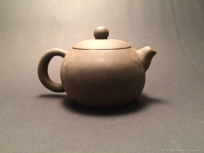 """Чайники, кофейники ручной работы. Ярмарка Мастеров - ручная работа. Купить Заварочный чайник (270 мл) """"Си Ши"""", ручная лепка. Handmade."""