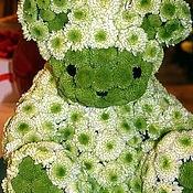 Цветы и флористика ручной работы. Ярмарка Мастеров - ручная работа Белый медведь.. Handmade.