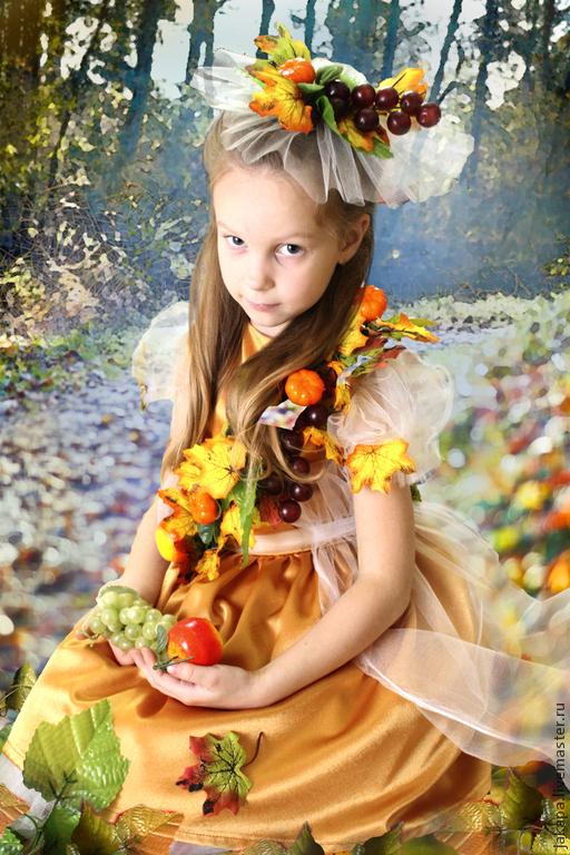 Картинки девочки осени