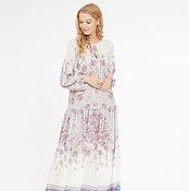 Одежда ручной работы. Ярмарка Мастеров - ручная работа Платье шифоновое, летнее платье, дизайнерское платье. Handmade.