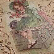 Для дома и интерьера ручной работы. Ярмарка Мастеров - ручная работа Вешалки Французский шик. Handmade.