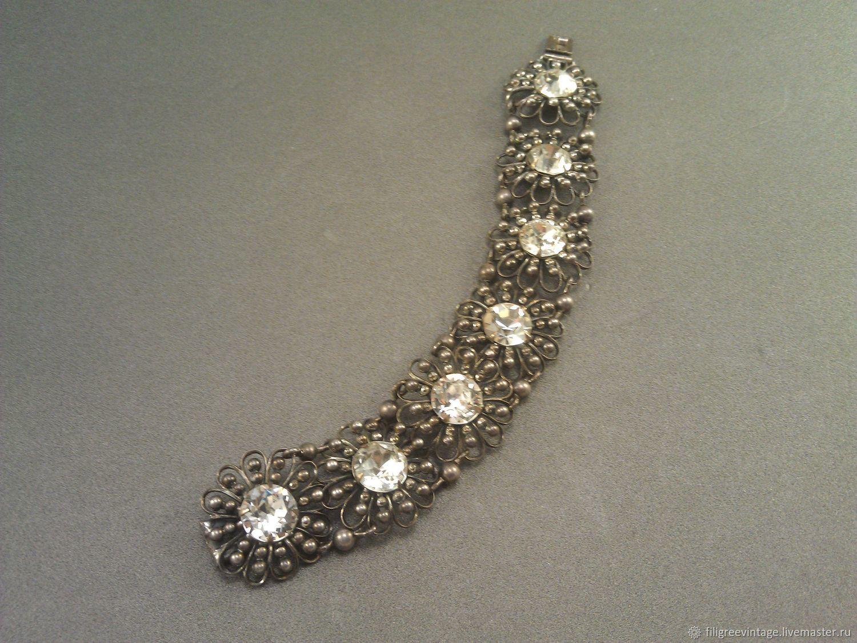 Винтаж: Napier. Редкий винтажный браслет, Винтажные браслеты, Санкт-Петербург,  Фото №1