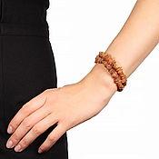 Украшения handmade. Livemaster - original item Bracelet amber natural stones amber 2 strands of elastic. Handmade.