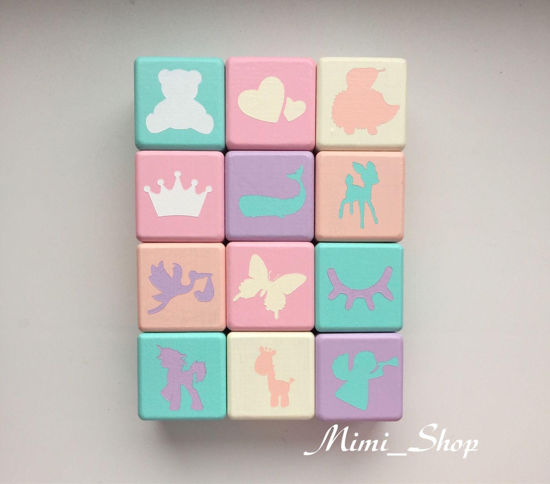 Именные кубики, Игрушки, Рязань, Фото №1