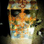 """Фен-шуй и эзотерика handmade. Livemaster - original item Куб-Стелла """"Я - Лидер"""", кристалл с ручной гравировкой. Handmade."""