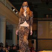 """Одежда ручной работы. Ярмарка Мастеров - ручная работа Костюм """"Дикий Ягуар"""", можно заказать шляпку в комплекте. Handmade."""