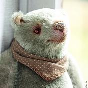 """Мишки Тедди ручной работы. Ярмарка Мастеров - ручная работа мишка-тедди """"Мятный леденец"""". Handmade."""