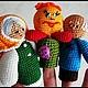 """Развивающие игрушки ручной работы. Пальчиковый театр""""Колобок"""".. мария (prosto-mariya). Интернет-магазин Ярмарка Мастеров. Колобок, развивающая игрушка"""