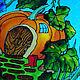 """Декоративная посуда ручной работы. Декоративная тарелка""""Домик-тыква"""". Ванда. Ярмарка Мастеров. Ручная авторская работа, подарок девушке"""