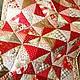 Текстиль, ковры ручной работы. Ярмарка Мастеров - ручная работа. Купить Дела сердечные. Handmade. Лоскутное покрывало, печворк, для девочки