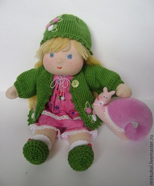 """Вальдорфская игрушка ручной работы. Ярмарка Мастеров - ручная работа. Купить Кукла по мотивам """"Солнца лучик"""" 32 см. Handmade."""