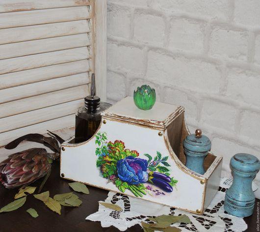 Полки для специй ручной работы. Ярмарка Мастеров - ручная работа. Купить Artichaut подставка для кухни. Handmade. Ярко-зелёный, дерево