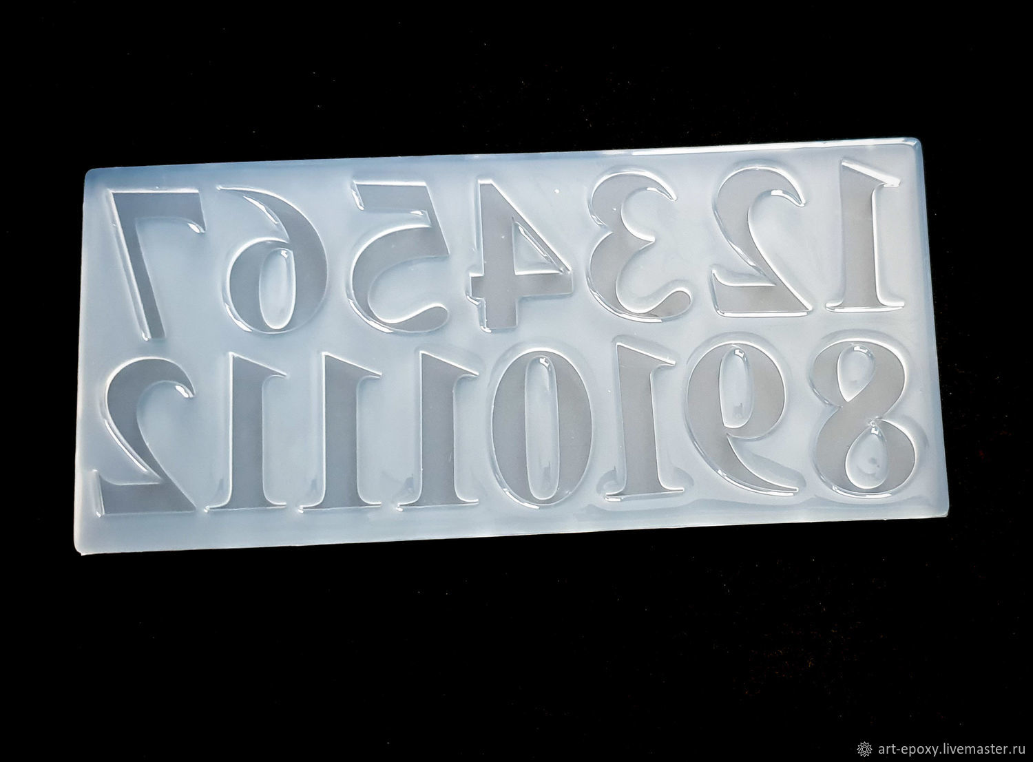 Mold ' Arabic numerals', Molds for making flowers, Volgograd,  Фото №1