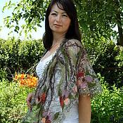 Аксессуары handmade. Livemaster - original item Callejon - Fishnet shawl. Handmade.