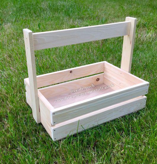 Упаковка ручной работы. Ярмарка Мастеров - ручная работа. Купить Ящик # 18. Handmade. Деревянная заготовка, заготовки из дерева